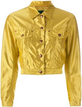 Jean Paul Gaultier Pre Owned Cropped Sheen Jacket