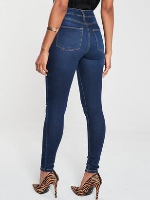 Very Short Florence High Rise Skinny Jean - Indigo