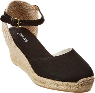 Soludos Closed-Toe Midwedge Sandal