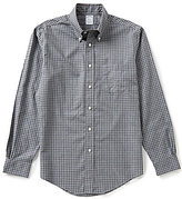 Brooks Brothers Non-Iron Grid Long-Sleeve Woven Shirt