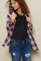 Garage Boyfriend Plaid Flannel Shirt