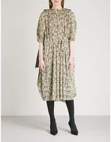 Balenciaga Dollar-print woven dress