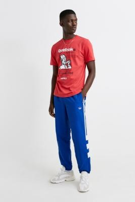 adidas Royal Blue Track Pants - blue S at Urban Outfitters