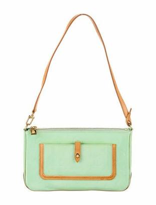Louis Vuitton Monogram Vernis Mallory Square Shoulder Bag brass