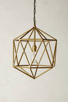 Anthropologie Euclidean Pendant, Faceted Orb