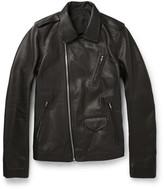 Rick Owens - Stooges Grained-leather Jacket