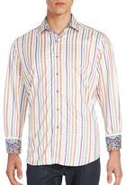 Robert Graham Striped Sportshirt