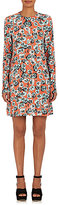 Marni Women's Floral-Print Crepe Shift Dress