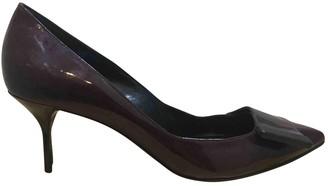 Pierre Hardy Burgundy Patent leather Heels
