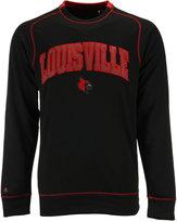 Antigua Men's Louisville Cardinals Volt Crew Fleece Sweatshirt