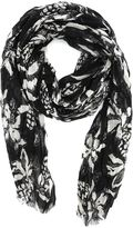 Saint Laurent Silk And Cashmere Scarf