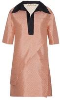 Marni Blossom-print layered tunic dress