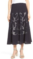 Nic+Zoe Women's Secret Garden Midi Skirt