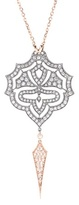 Stone Paris Passion 18kt Rose Gold Necklace With White Diamonds