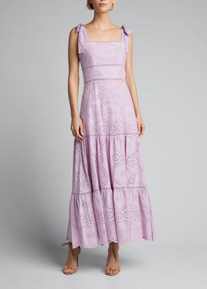Jonathan Simkhai Nicole Broderie Anglaise Midi Dress
