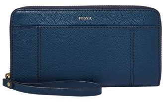 Fossil Jori Rfid Zip Clutch Wallet Twilight