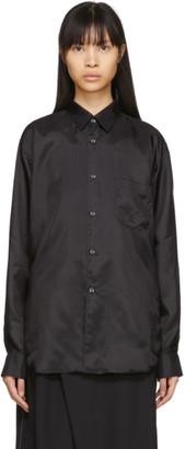 Comme des Garçons Shirt Black Cupro Taffeta Forever Shirt