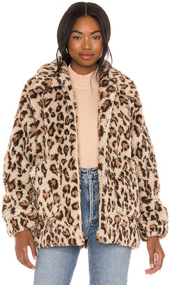 Show Me Your Mumu Cordelia Faux Fur Jacket