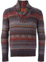Missoni striped V-neck pullover