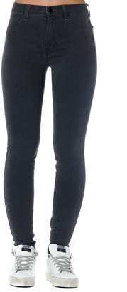 J Brand Black Cotton Skinny Jegging