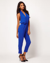 Asos Jumpsuit With Sexy Halter