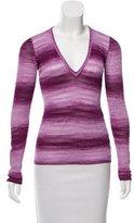 Missoni Ombré V-Neck Sweater