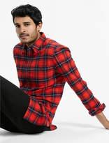 Lucky Brand Saturday Stretch Workwear Flannel Shirt