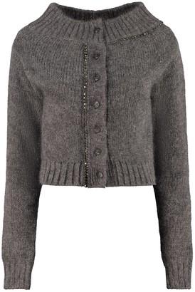 N°21 N.21 Wool Cardigan