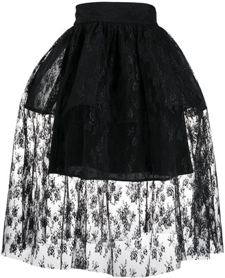Christopher Kane Lace Full Skirt