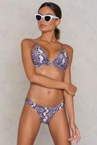 Wolfwhistle Snake Print Bikini Brief