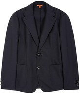 Barena Navy Woven Jacket
