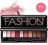 Eyeshadow Palette,ESCENERY 10 Colors Cosmetic Matt Available Powder Smoky Eyeshadow Palette Makeup Set (2#)
