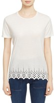 The Kooples Women's Eyelet Tee