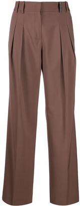 Fabiana Filippi Flared Style Trousers