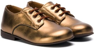 Pépé Metallic Oxfords