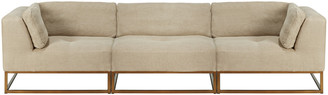 OKA Botero Modular Sofa Set - Natural