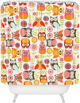 Bed Bath & Beyond Valentina Ramos Cute Little Owls Shower Curtain