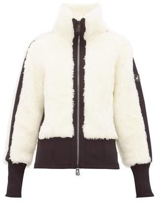 Toni Sailer Jacquie Wool Blend Shearling Jacket - Womens - Ivory