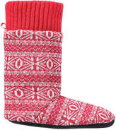 Joe Fresh Kid Girls' Slipper Boots, Red (Size M)