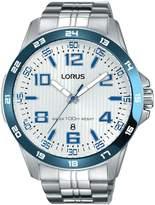 Lorus Men's 45mm Steel Bracelet & Case Quartz -Tone Dial Watch Rh903gx9