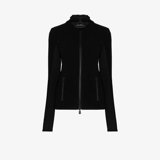 MONCLER GRENOBLE Maglia logo-patch ski jacket