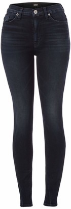 Hudson Women's Barbara High Rise Super Skinny Jeans