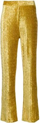Frenken High-Waist Flared Trousers