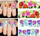 MSmask Nail Art Stickers Stamping Decals New Fashion Professional Women Lady 114pcs 9D