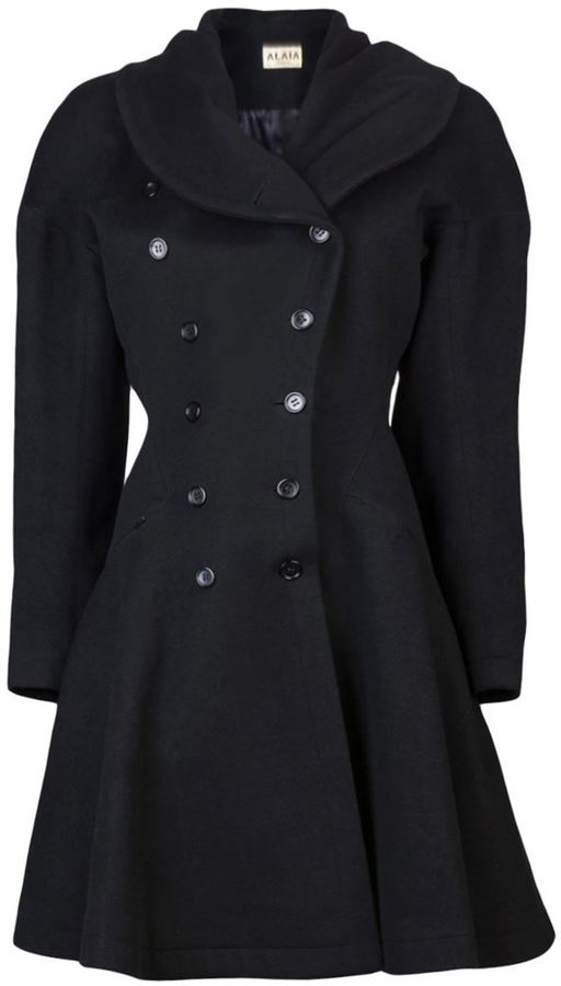 Alaia Vintage 90S wool coat