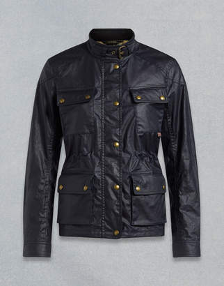 Belstaff Fieldmaster Waxed Jacket navy UK 4 /