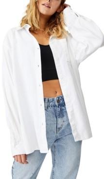 Cotton On Boyfriend Shirt