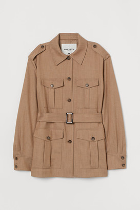 H&M Belted utility jacket