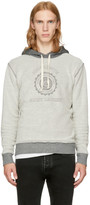 Saint Laurent Grey & Off-White 'Université' Hoodie