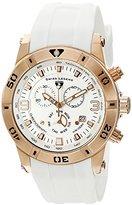 Swiss Legend Men's 'Opus' Swiss Quartz Stainless Steel Casual Watch (Model: 14086SM-RG-02-WHT)